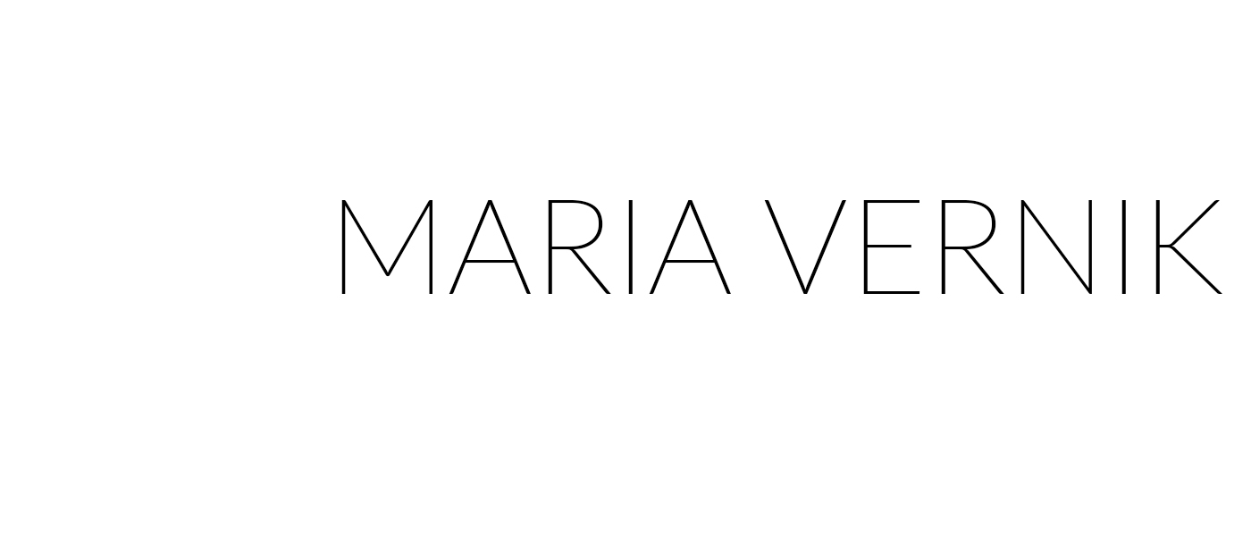 MARIA VERNIK - Fashion Blog - בלוג אופנה