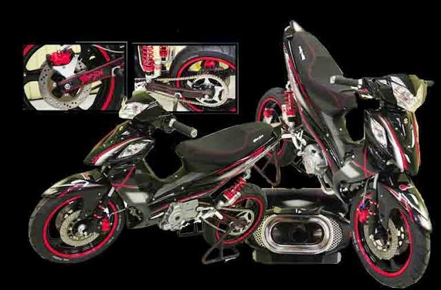 Kumpulan Modifikasi Motor Drag Terbaik 2015