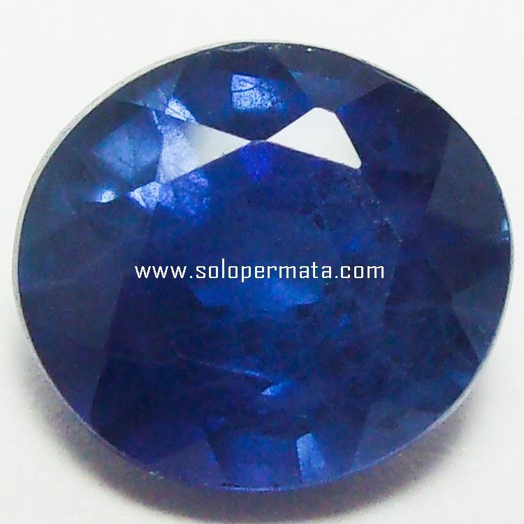 Batu Permata Royal Blue Sapphire Ceylon - 26A08