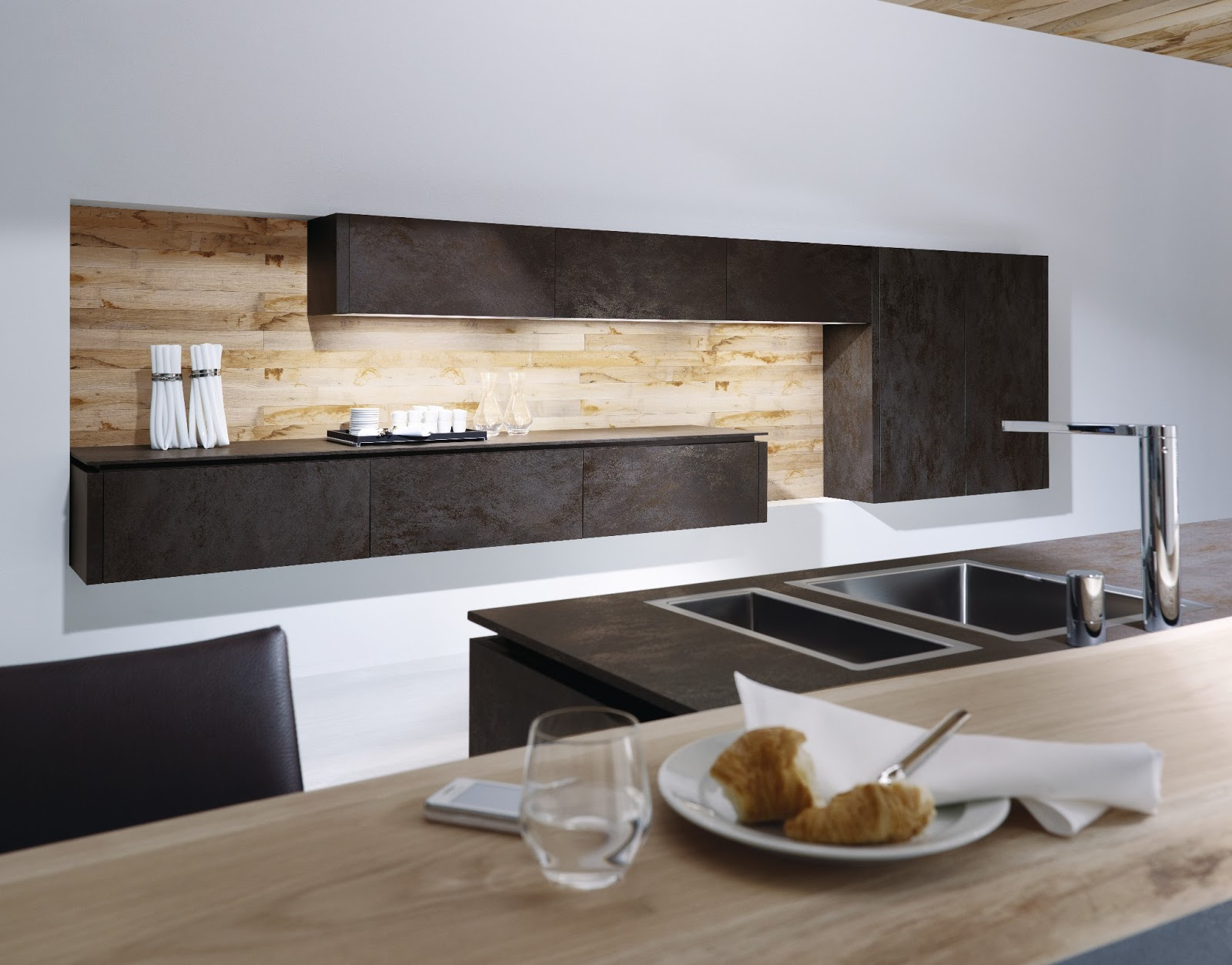 Cuisine anthracite for Cuisine design