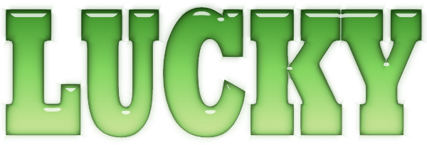 Image result for lucky word images