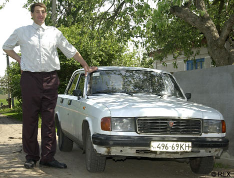 No this isn t a toy but at 8ft 5ins leonid stadnik makes this car