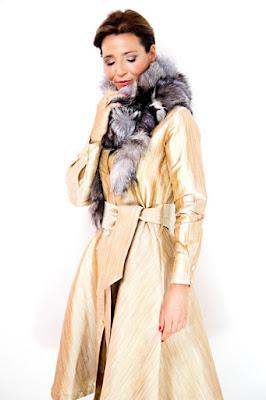 Vestido camisero de seda de Toplove