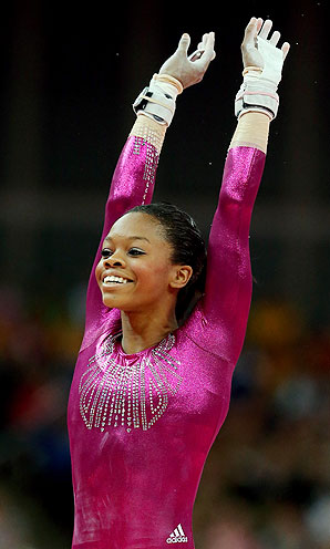 American News Broadcasting Gabby Douglas Wins All Around