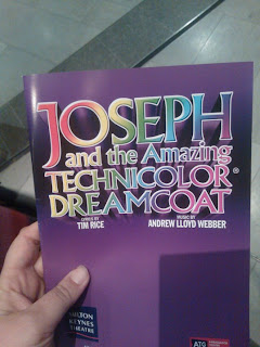Joseph and The Amazing Technicolour Dreamcoat Programme