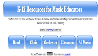 Some Very Good Websites for Music Teachers