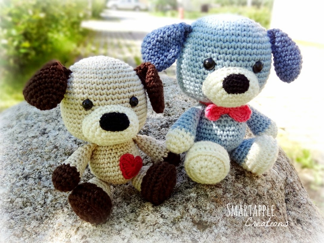 Amigurumi Pug Dog Pattern : Smartapple Creations - amigurumi and crochet: Sammy the ...