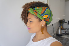 styles to do with natural hair Natural Afro Hair Tutorial How to style Ankara African Print