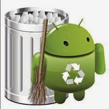 Cara membersihkan data di android
