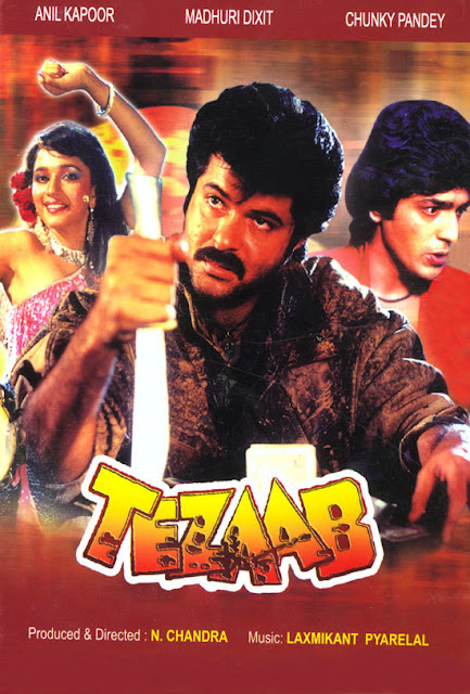 Tezaab (1988) Movie Poster