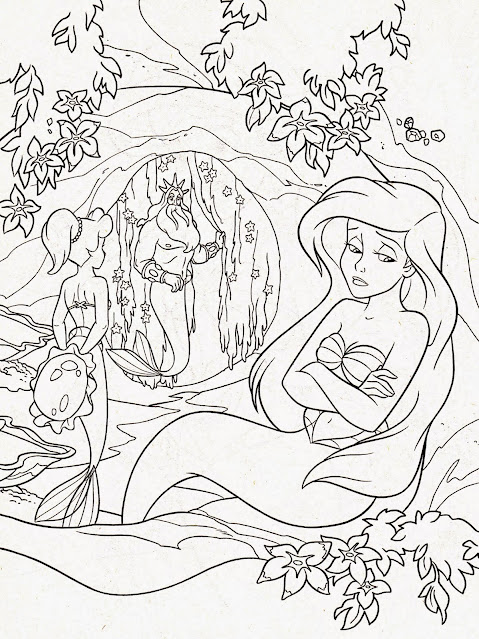 Disney coloring pages coloring.filminspector.com Ariel the little mermaid