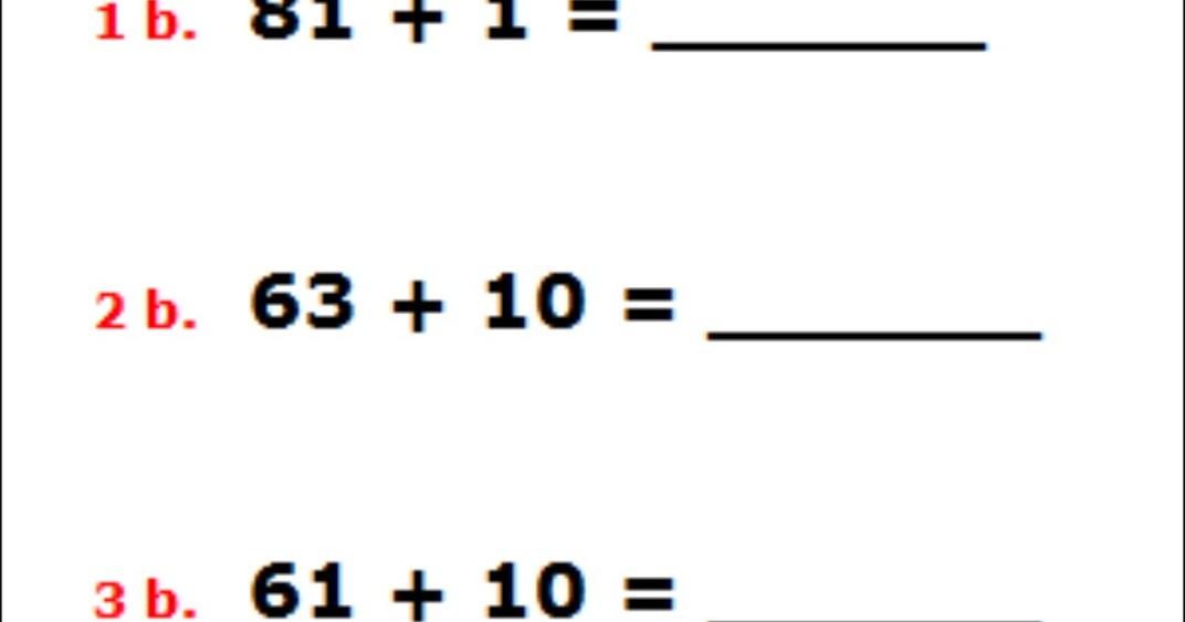 Homeschooling in Heels: Free Math Worksheets