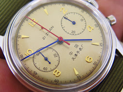 SEA GULL 1963 CHRONOGRAPH CREAM DIAL - MANUAL WINDING