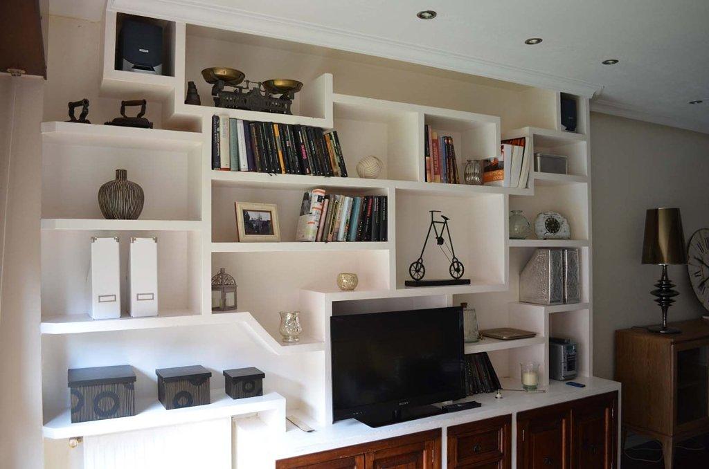 Drywall construye muebles drywall - Muebles de obra para salon ...