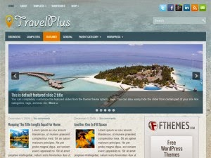 TravelPlus - Free Wordpress Theme