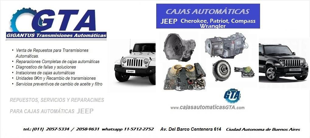Cajas Automáticas Jeep