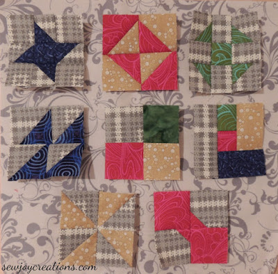 first 8 mini christmas blocks temecula 2015