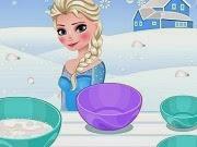 Postre helado de Elsa