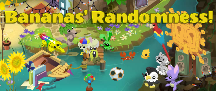 Bananas' Randomness Blog!