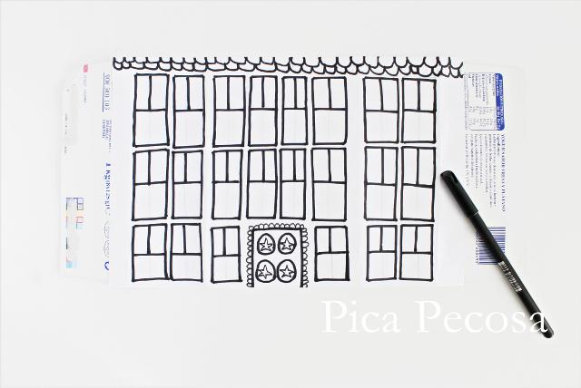 tutorial-como-hacer-casa-muñecas-con-carton-reciclado-packs-yogures-diy-paso-tres