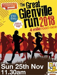 4m race to the n of Cork City... Sun 25th Nov 2018