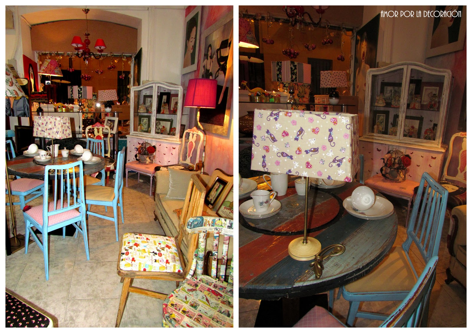 Del gallo una tienda de decoraci n retro fashion - Decoracion segunda mano ...