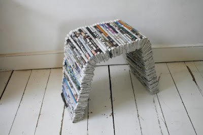 Creative and Cool Ways to Reuse Old Newspapers (30) 18