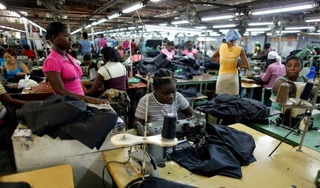 Ugandan Apparel Factory