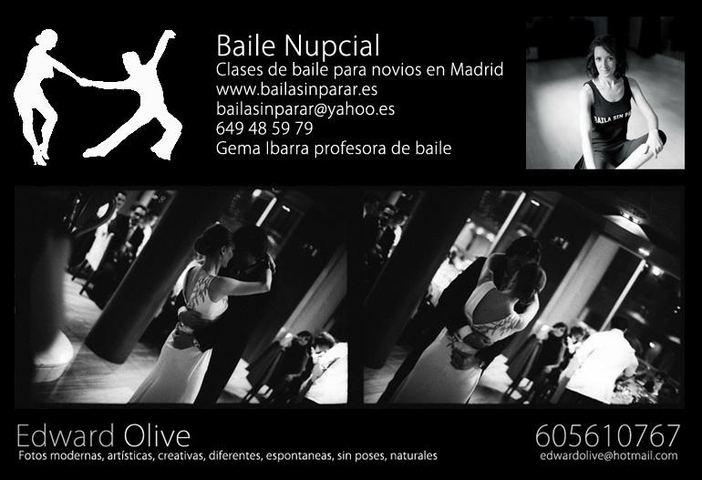 Baile nupcial madrid clases de baile para novias for Academias de bailes de salon en madrid