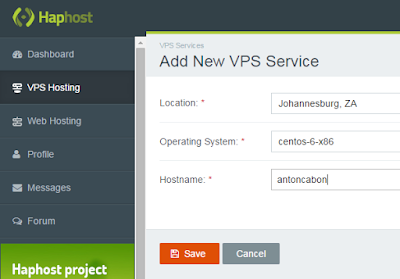 Approved vps free form haphost.com