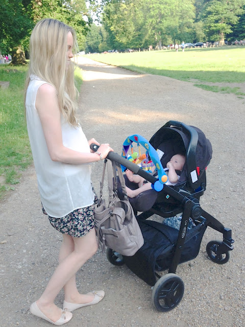 graco evo, travel system, new mum, newborn in pram, infant car seat, summer pram strolls, pram, pushchair, what should i consider when buying a pram