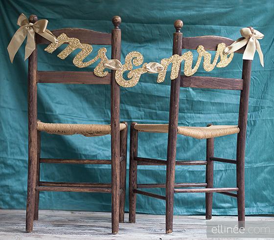 DIY letreros boda