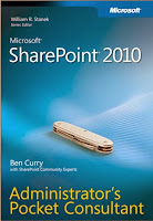 Download Sharepoint 2010 Administration Pocket Consultant Online free book