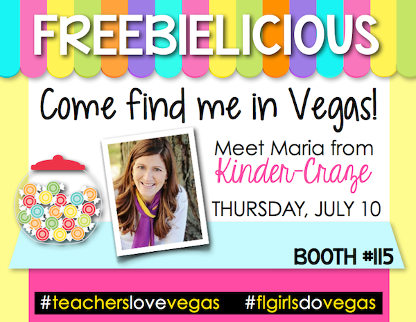 Kinder-Craze is coming to VEGAS! Stop by booth 115 for lots of fun and a photo booth!