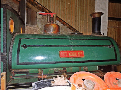 Lee Moor No.1 train used in China Clay industry