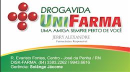 Drogavida Unifarma - Dr. Jerry Alexandre- José da Penha
