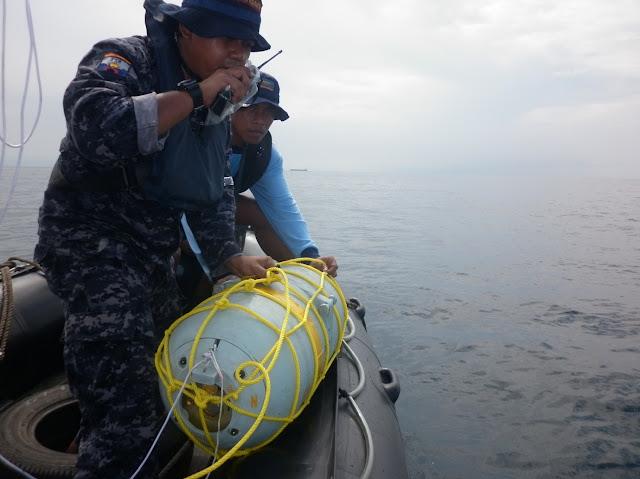 AL Indonesia dan Singapura Latihan Peperangan Ranjau Laut