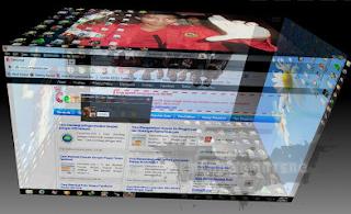 Membuat Tampilan Windows Menjadi 3D