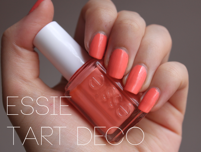 Essie Tart Deco- Currently On My Nails - A Little Obsessed