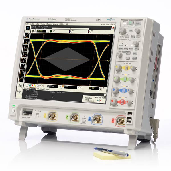 calibration Oscilloscope - Agilent DSO9104A