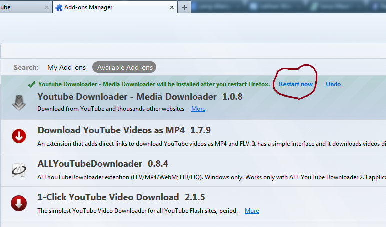 Android Youtube Download Manager