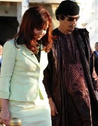 Ex presidente libio, Muammar Gadafi