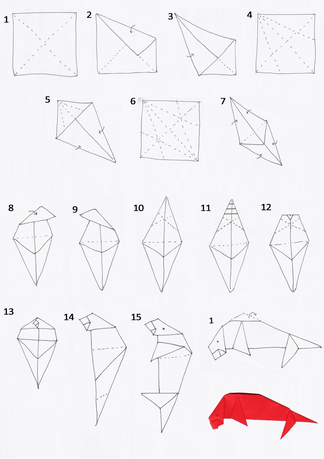 Подвижное оригами для начинающих