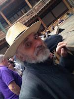Trevor at the Globe