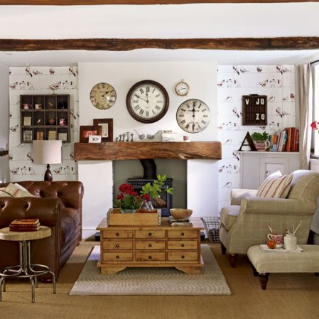 The nice living room ideas modern country design living for Country style family room ideas