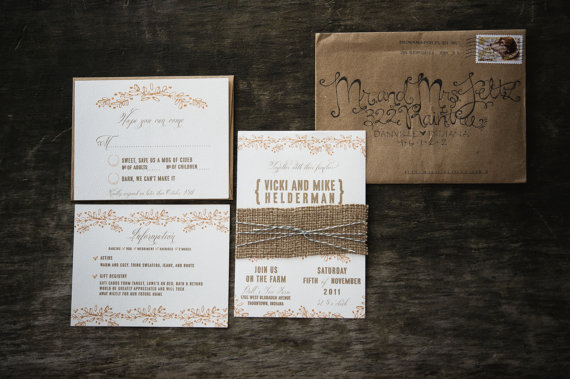 Simply By Tamara Nicole Seattle Weddings Rustic Etsy Wedding – Etsy Rustic Wedding Invitations