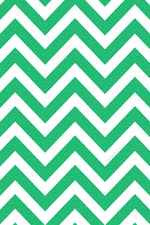 Chevron Emerald Green