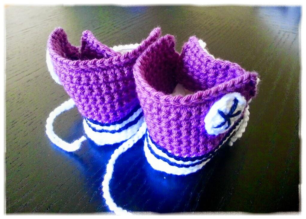 virka babyconverse babysko köpa mönster