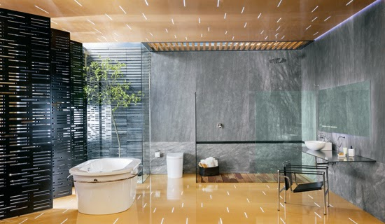 Baño De Regadera Concepto:podio: Colección YAZ para URREA por Joel Escalona Studio