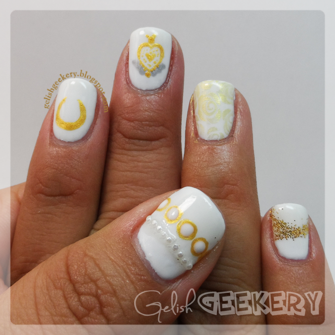 Gelish Sailormoon Nails